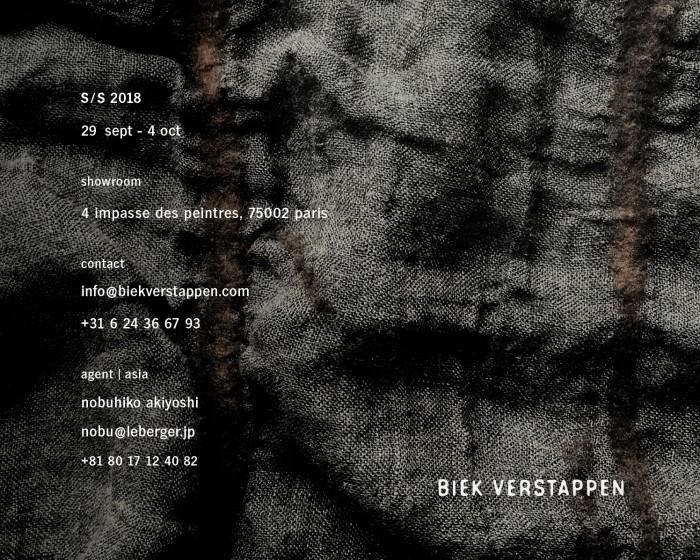 BIEKVERSTAPPEN SS18 INVITATION MAIL